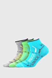 3 PACK chlapčenských nízkych ponožiek VOXX