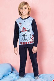 Chlapčenské pyžamo Bear modré