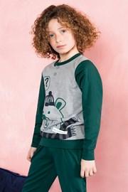 Chlapčenské pyžamo Bear zelené
