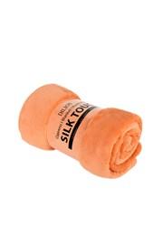 Deka Silk oranžová