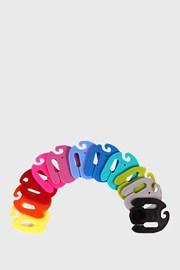 Farebné spony na párovanie ponožiek