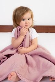 Detská deka Muslim ružová