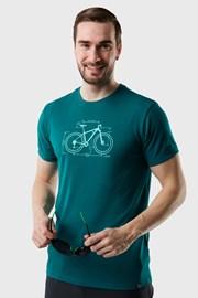 Zelené tričko LOAP Mugs