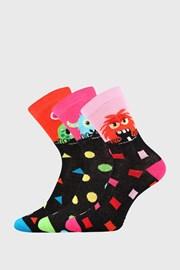 3 PACK dievčenských ponožiek Ufónik