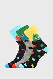 3 PACK chlapčenských ponožiek Ufónik