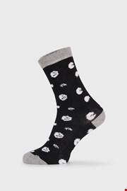 Dámske ponožky BlackWhite čierne
