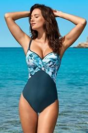 Dámske jednodielne plavky Xena Blue
