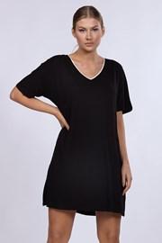 Dámska nočná košeľa DKNY Black
