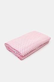 Luxusná deka Steps ružová