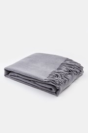 Luxusná deka Merino sivá