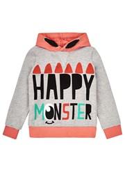 Dievčenská mikina Happy Monster