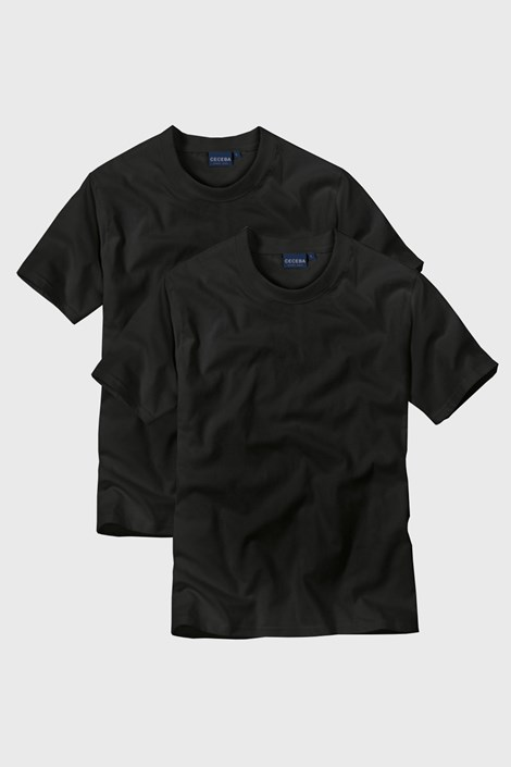 2 pack pánskych tričiek Black