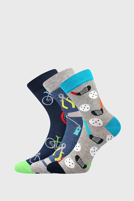 3 PACK chlapčenských ponožiek Freetime