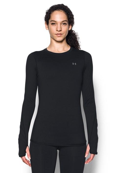 Čierne športové tričko Under Armour Crew