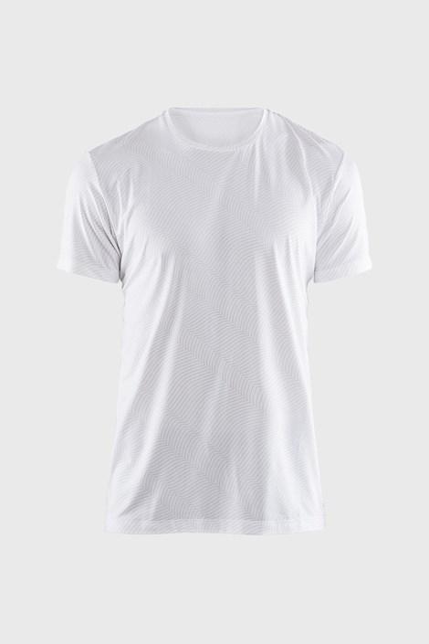 Pánske tričko CRAFT Essential biele so vzorom