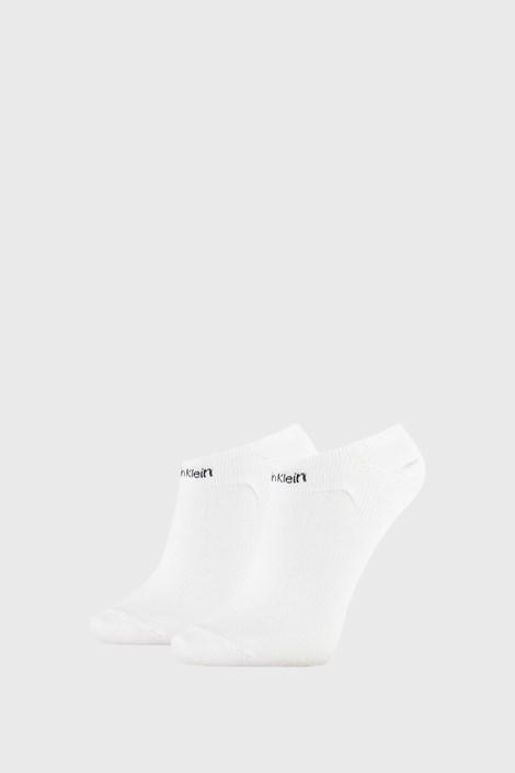 2 PACK dámskych ponožiek Calvin Klein Leanne biele