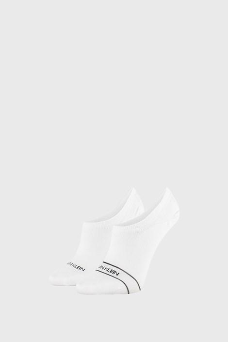 2 PACK bielych dámskych ponožiek Calvin Klein Alice