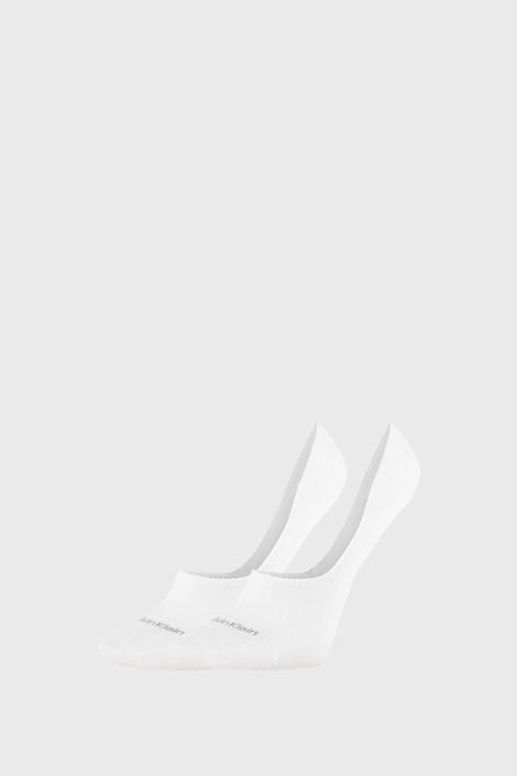 2 PACK dámskych ponožiek Calvin Klein Jessica biele