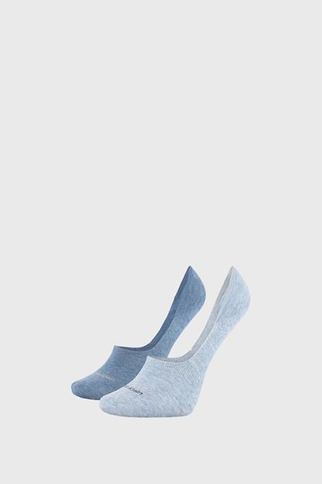 2 PACK dámskych ponožiek Calvin Klein Jessica modré