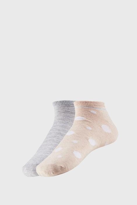 2 PACK dámskych členkových ponožiek Adreana