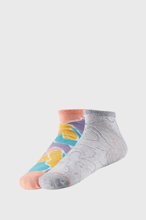 2 PACK dámskych členkových ponožiek Claretta