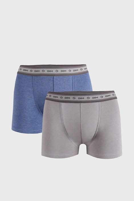 2 PACK sivo-modrých boxeriek DIM Ecosmart