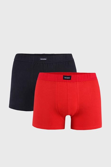 2 PACK červeno-čiernych boxeriek
