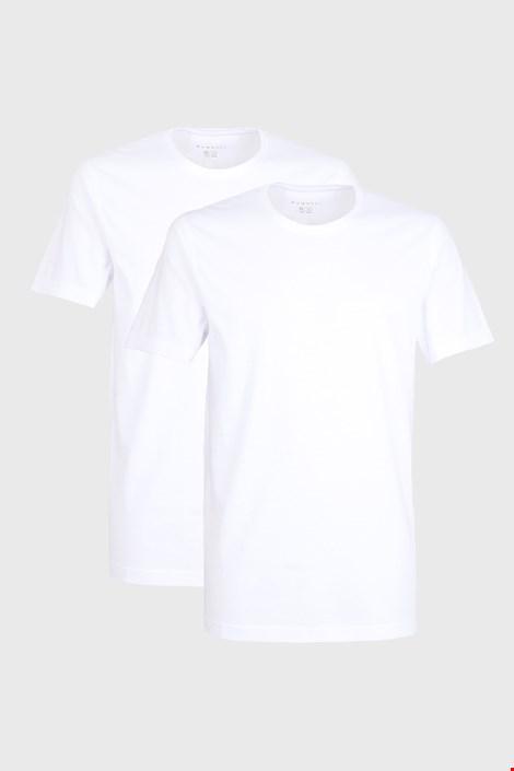 2 PACK bielych tričiek bugatti O-neck