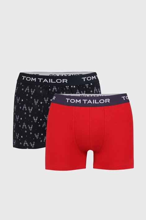 2 PACK modro-červených boxeriek Tom Tailor
