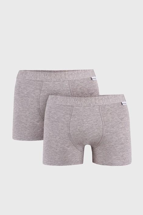 2 PACK sivých boxeriek Uomo Extra