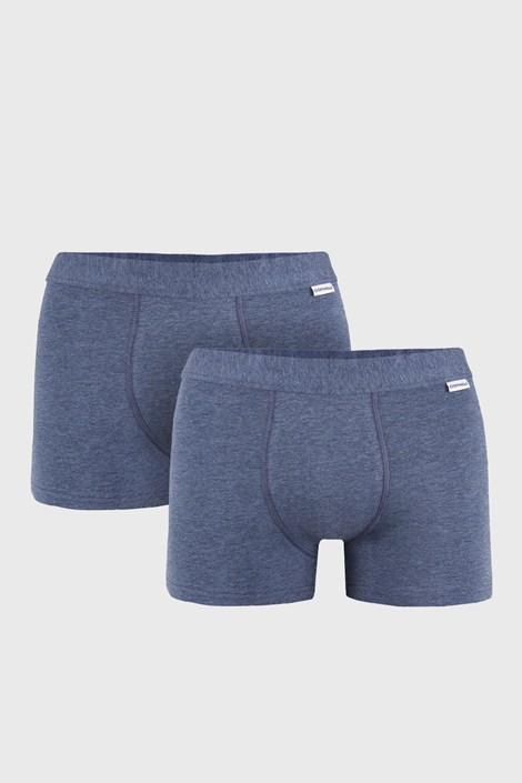 2 PACK modrých boxeriek Uomo Extra