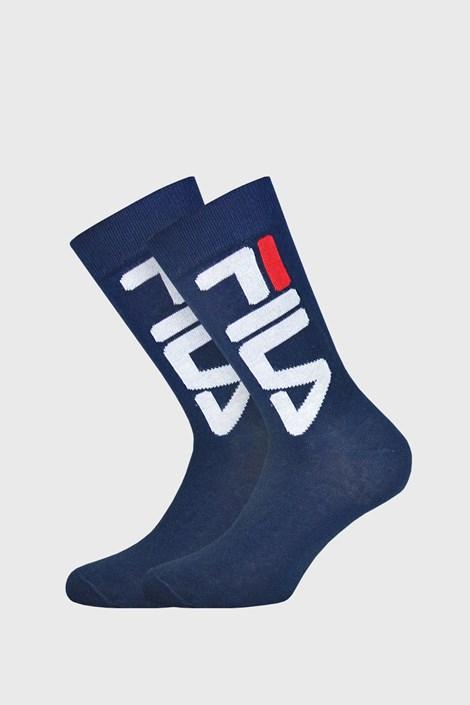 2 pack tmavomodrých vysokých ponožiek FILA