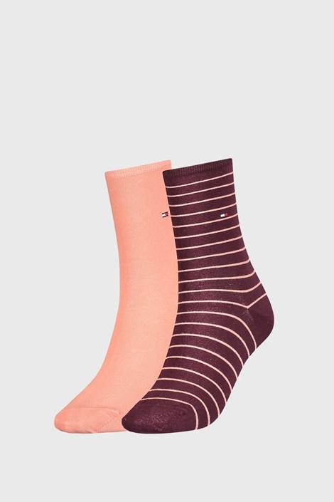 2 PACK dámskych ponožiek Tommy Hilfiger Stripes