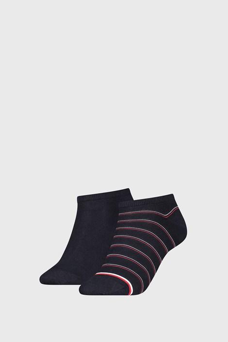 2 PACK dámskych ponožiek Tommy Hilfiger Preppy Navy