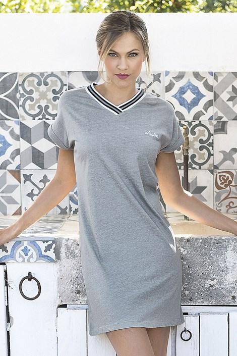 Dámské letní šaty Corfu šedé