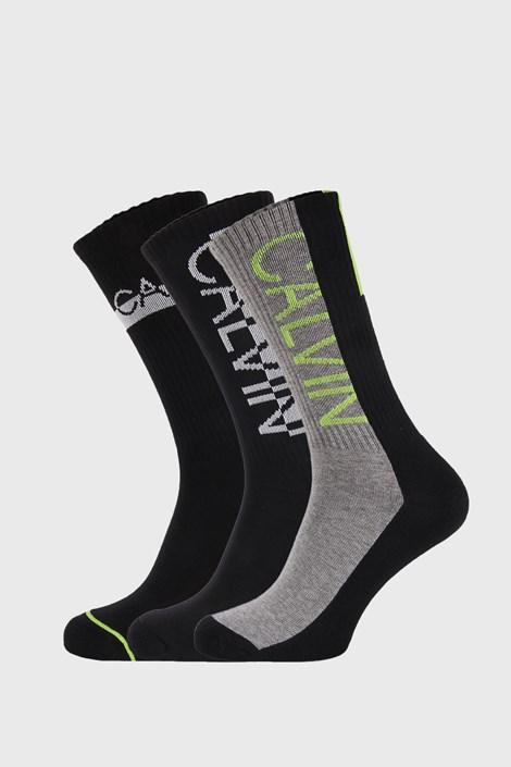 3 PACK vysokých ponožiek Calvin Klein Jesse