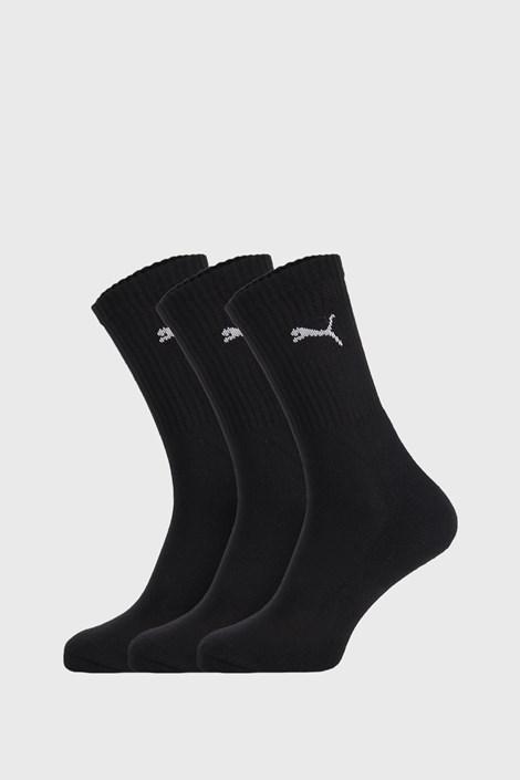 3 PACK čiernych ponožiek puma Sport