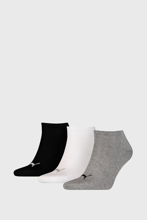 3 PACK ponožiek Puma Sneaker Plain