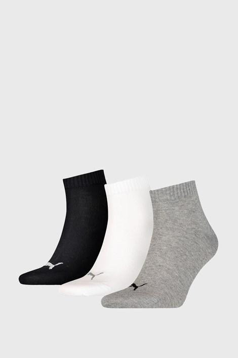 3 PACK ponožiek Puma Quarter Plain