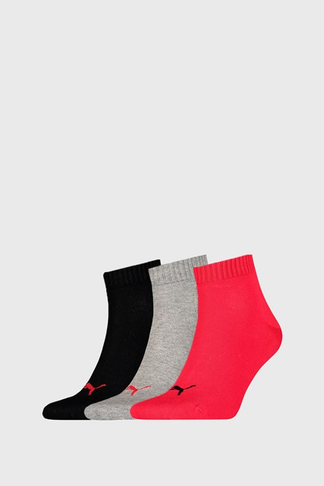 3 PACK ponožiek Puma Quarter Plain II