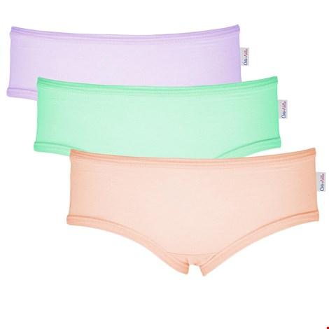 3 PACK dievčenských nohavičiek Colour