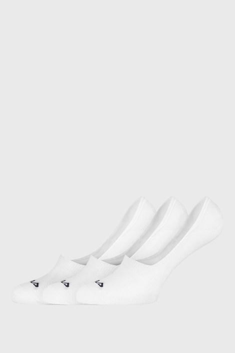 3 PACK bielych ponožiek FILA Ghost