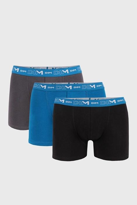 3 PACK pánskych boxeriek DIM Cotton Stretch