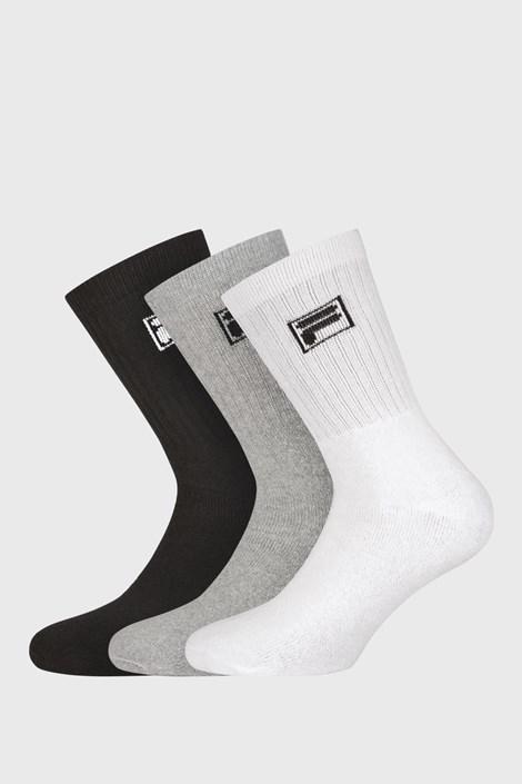 3 pack troch farieb vysokých ponožiek s logom FILA