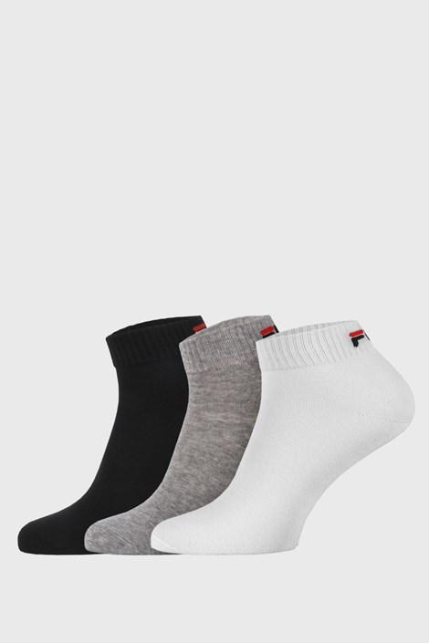 3 PACK troch farieb nízkych ponožiek FILA