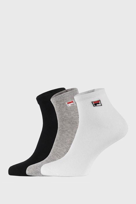3 pack troch farieb členkových ponožiek FILA