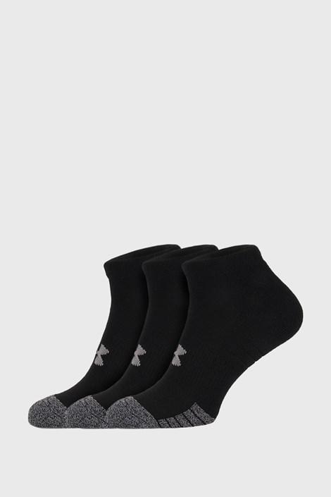 3 PACK čiernych ponožiek Under Armour Locut