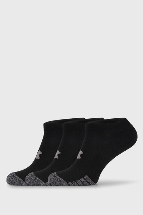 3 PACK čiernych ponožiek Under Armour