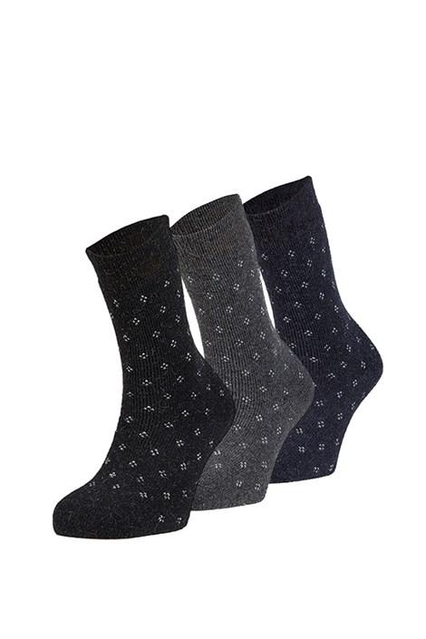 3 pack hrejivých ponožiek Alma