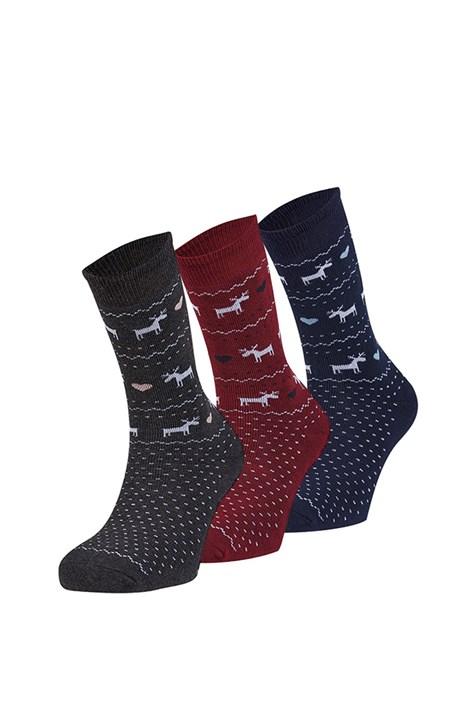 3 pack hrejivých ponožiek Sabado